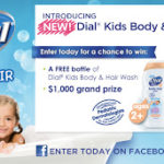 New Dial Kids Body & Hair Wash Giveaway – Review
