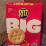 Enter for a Chance to Win a Ritz Crackers Prize Pack – RITZ Crackers debuts Big RITZ, Limited Time Only