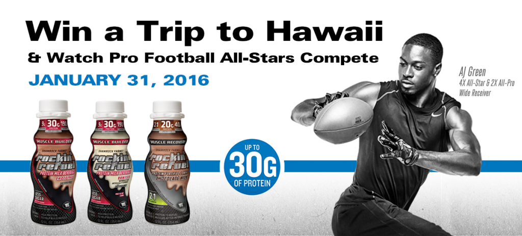 AJ_Green_AllStars_slider3-1024x463 Win A Trip For Two To Hawaii In Rockin' Refuel's Football in Paradise Sweepstakes