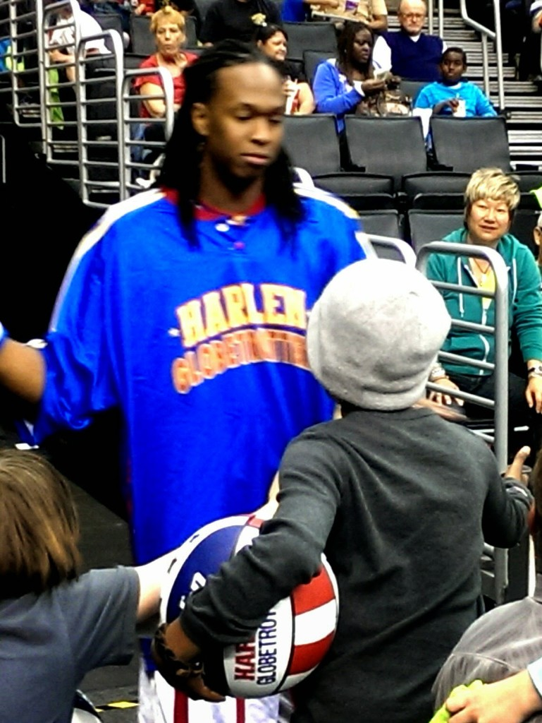 Globetrotter-and-Chance-769x1024 Enter For a Chance to Win Harlem Globetrotter 90th Anniversary Game Tickets