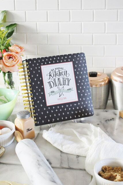 Kitchen-Diary You Will Never Forget Grandma's Recipes...If You Have The Keepsake Kitchen Diary