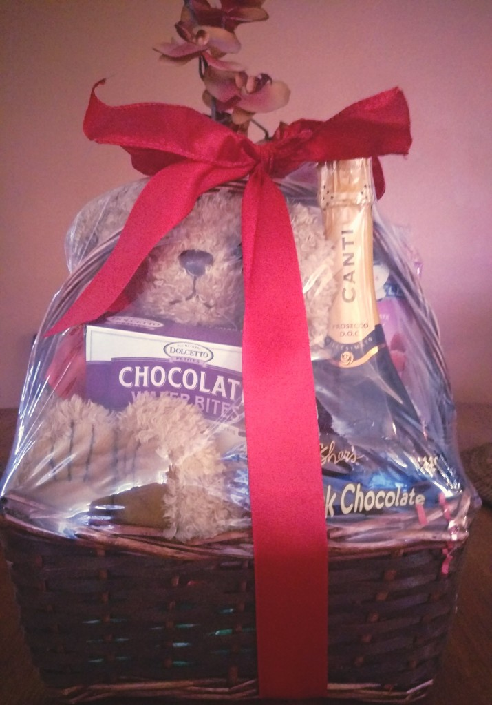 Valentines-Gift-basket-715x1024 Give Them Food and Drinks For Valentine's Day