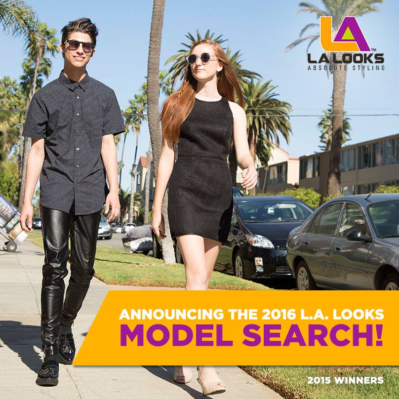 Model-Search Submit Your Photo to The LA Looks 2016 Model Search