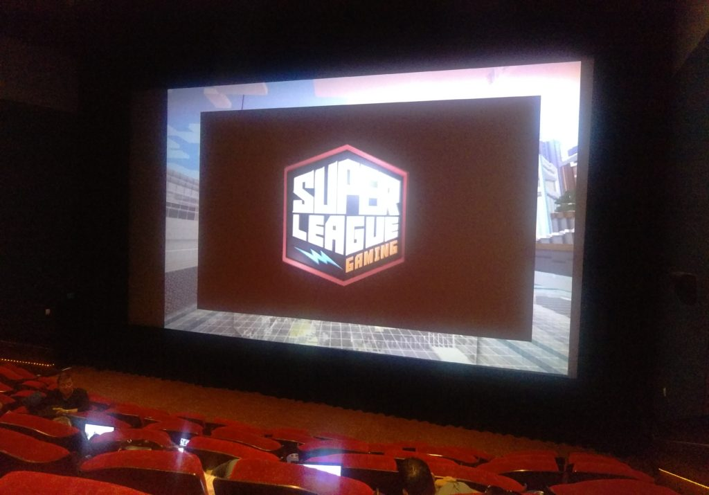 Minecraft-SuperLeague-Theater-1024x715 Super League Gaming: Kids Can Play Minecraft in a Theater