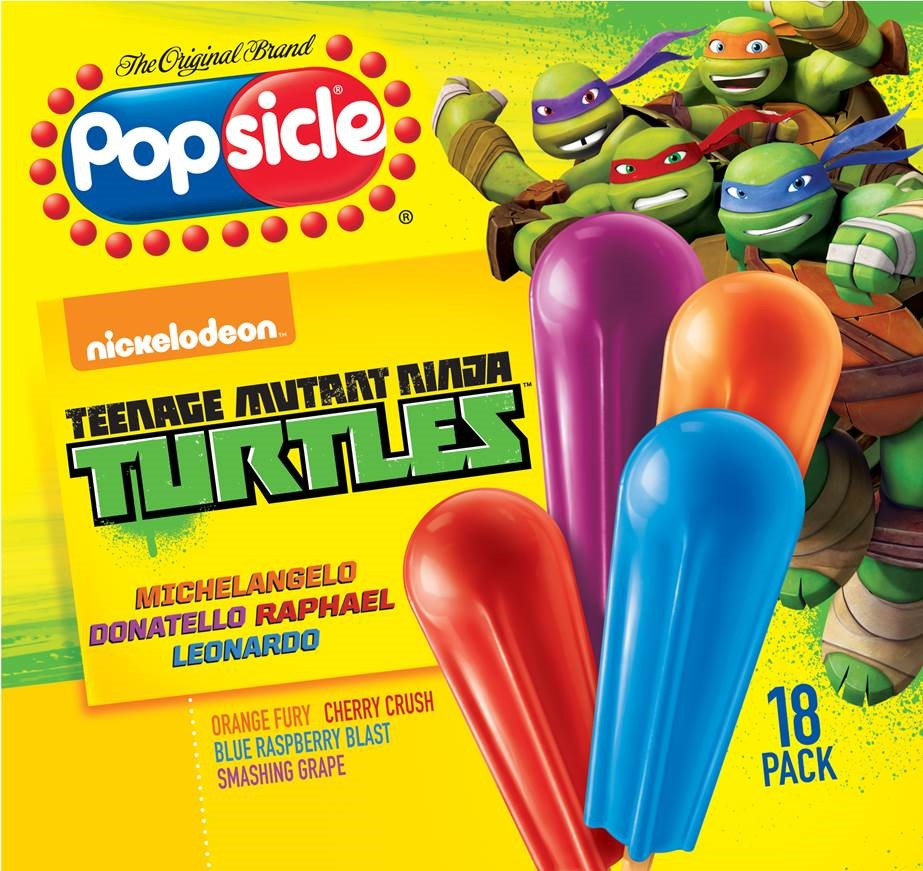 TMNT Check Out These 4 Delicious Popsicle Flavors