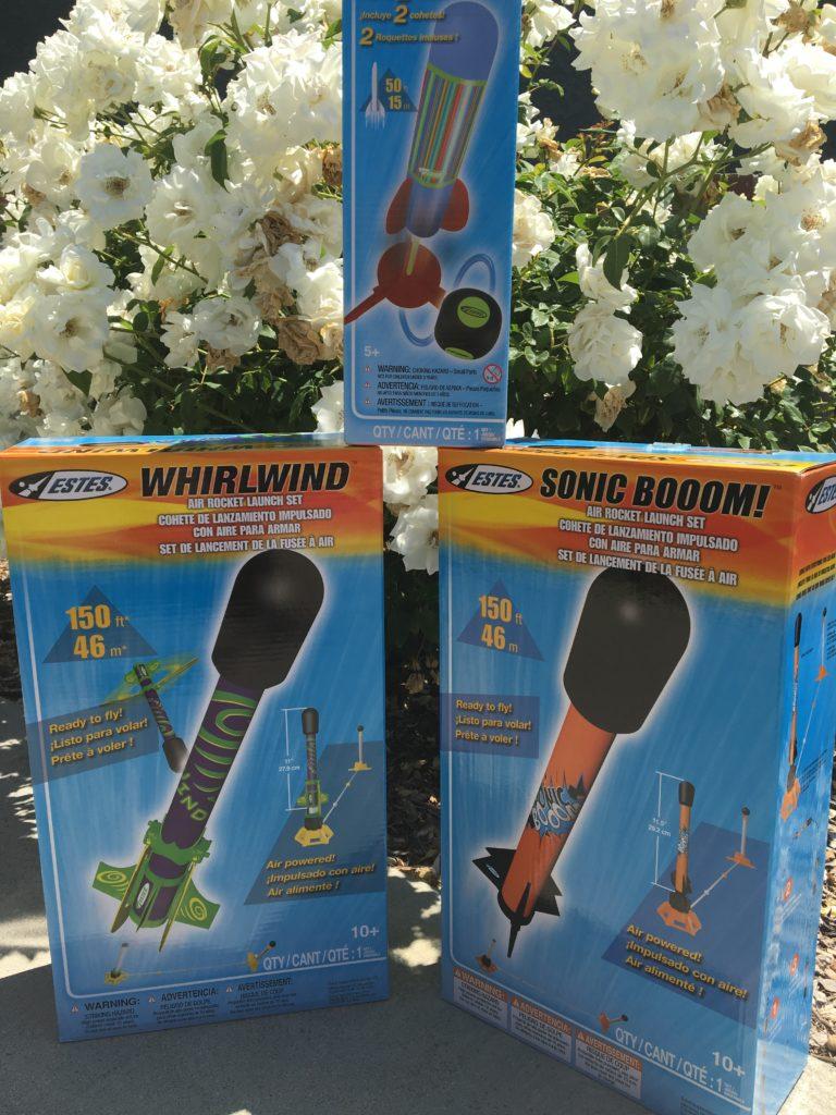 Whirlwind Air Rocket Set