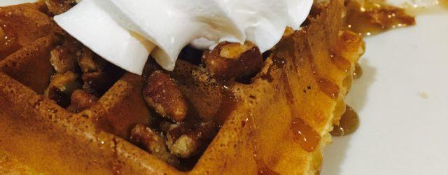 Skicky bun waffles