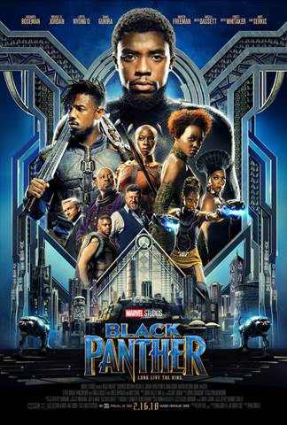 Black-Panther-Movie Black Panther Marvel Movie Is One Of The Top Rated New Movies